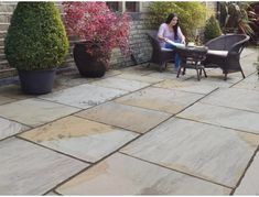 Buy Marshalls - Chapelgate Garden Paving online from Turnbull. See our other Marshalls products Concrete Paving, Paving Stones, Indian Sandstone Paving Slabs, Crazy Paving, Paving Design, Block Paving, Garden Paving, Natural Brown, Brown And Grey