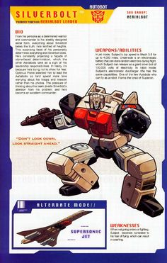 Transformer of the Day: Silverbolt