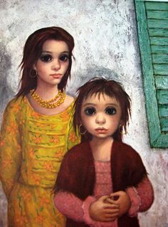 "Big Eye Paintings by Keane | The Gypsies"" by Margaret Keane"