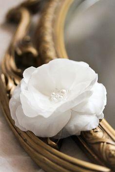 FELCITY bridal hair flower wedding hair flower by percyhandmade