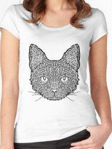 Savannah Cat - Complicated Cats Women's Fitted Scoop T-Shirt