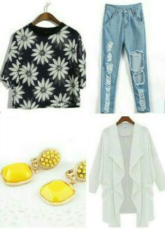 Don't forget you cute daisy queen roll up those jeans and grab some cute heels  Xoxo Kz