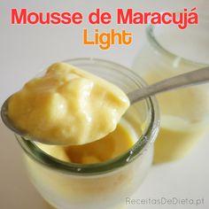 Mousse de Maracujá Light