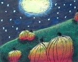 Artsonia Art Exhibit :: Magical Midnight Pumpkins - Grade 4