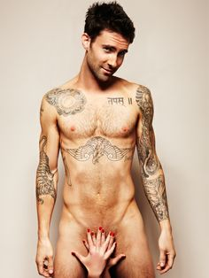 Adam Levine.. I wish I was these hands...