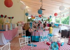 Thing 1 Thing 2 Baby Shower