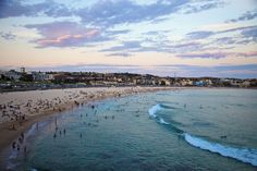 Bondi Beach, Sydney       Bondi is synonymous with Sydney's beach and surf culture - a purely Aussie slice of sun and fun.