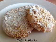 Bursa Cookie - Elifik in the Kitchen Easy Cake Recipes, Cookie Recipes, Turkey Cake, Tea Time Snacks, Food Humor, Catering, Food And Drink, Breakfast, Sweet