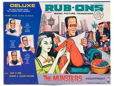 The Munster's Rub-Ons kit
