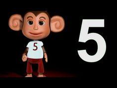 Muffin Songs - Five Little Monkeys   | nursery rhymes & children songs with lyrics