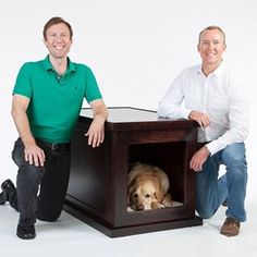 ZenCrate reduces pet anxiety caused from thunder or separation with noise canceling, vibration isolation, music, den design, and comfort.