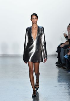 The Best Dresses From New York Fashion Week  - ELLE.com