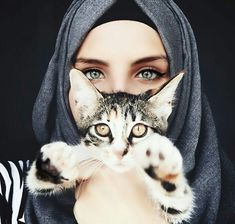 cat, fashion, and green eyes image