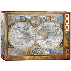 Old world map jigsaw puzzle puzzle 1000 gumiabroncs Gallery