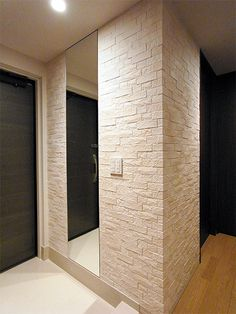 Entry Hallway, Bathroom Design Small, Home Hacks, Modern Wall, Building A House, Entrance, New Homes, Interior Design, House Styles