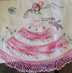 Vintage Single Standard Stitched Pillowcase by picadillymarket, $11.95