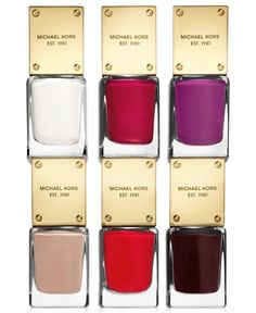 Michael Kors Nail Lacquer Collection - A Macy's Exclusive from Macy's on shop.CatalogSpree.com, your personal digital mall.