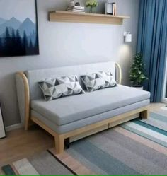 Folding Sofa Beds For Small Spaces 9 Amazing Folding Sofa Beds For Small Spaces (You Can Afford) Folding Furniture, Folding Sofa Bed, Space Saving Furniture, Home Decor Furniture, Diy Home Decor, Furniture Design, Furniture Projects, Modern Furniture, Pallet Garden Furniture