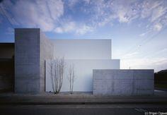 Bella, sencilla y pura expresion de volumenes. Akira Sakamoto Architect & Associates