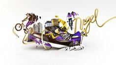 Nike ID by Jonathan Kim, via Behance