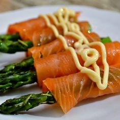Smoked salmon asparagus wraps. Grilled asparagus wrapped in smoked salmon.Very easy and delicious appetizer.