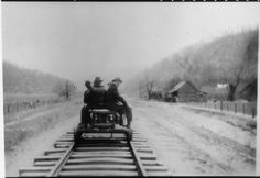 Franklin D. Roosevelt with others in Harlan County, Kentucky Harlan Kentucky, Harlan County, Appalachian People, Rail Car, Going Home, Past, Roosevelt, Scenery, Places To Visit