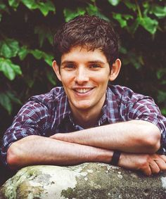 -Colin Morgan - I still think him and Freddie Highmore could play brothers in something...