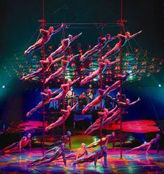 Saltimbanco Chinese Pole Act - Cirque du Soleil