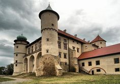 Nowy Wiśnicz is a small town in Bochnia County, Lesser Poland Voivodeship, Poland, with 2,724 inhabitants (2004). It is located 4 miles south of Bochnia. The 14th century Castle in Nowy Wiśnicz is the biggest surviving Baroque defensive structure in Poland. It is composed of four two storey wings, grouped around internal courtyard.