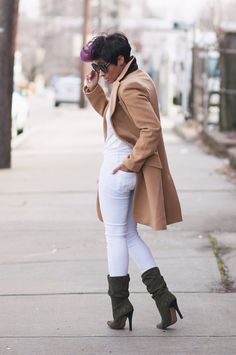 Kyrzayda Rodriguez of Kyrzayda Casual Fall Outfits, Fall Winter Outfits, Chic Outfits, Autumn Winter Fashion, Diva Fashion, Womens Fashion, Fashion Trends, Look 2018, Outfit Invierno