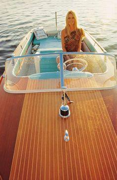 Brigitte Bardot Riva Boat