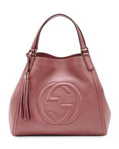 Soho Leather Shoulder Bag, Vintage Rose by Gucci at Neiman Marcus. Gant,  Purses 9ecea3395e