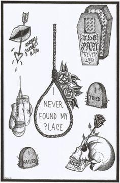 another death themed flash sheet. https://instagram.com/diegotristan89/© 2015 tristan ritter.