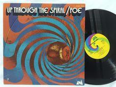 Poe Up Through The Spiral Uni 73099 LP Vinyl Record