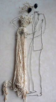 wire art and sculpture