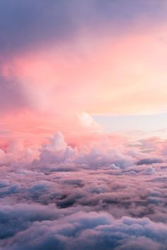 I've always loved when you are flying and are at about this height…to me it's where you can see heaven reaching down….
