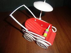 Retro kočárek Desk Lamp, Table Lamp, Prams, Pavlova, Retro, Czech Republic, Ale, Vintage, Home Decor
