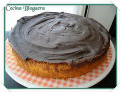 Tarta de Calabaza y Chocolate | Cocina Bloguera | Lo que sale de mi Humilde Cocina Bloguera. Recetas en Olla GM. #BlogsLianxio