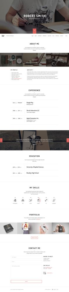 Prague - Architecture and Interior Design WordPress Theme Prague - wordpress resume theme