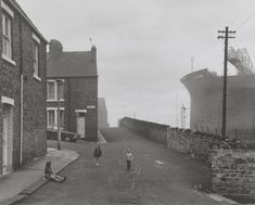 'Girls playing in the road, Wallsend, Tyneside', Chris Killip, 1975, printed 2012-13 | Tate