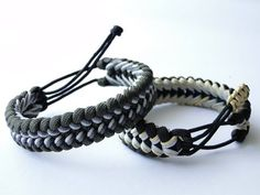 """How to Make a """"Mad Max Style"""" Sanctified Paracord Bracelet- Mix of Paracord 550-Micro Cord-Type 1/ - YouTube"""