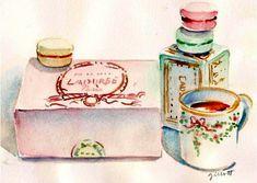 Ladureé illustration by Carol Gillott