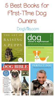 5 Best Books for First Time Dog Owners
