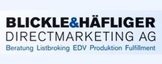 Blickle & Häfliger Directmarketing AG, Marketing, Embrach, Consulting, Directmarketing, Werbung, Listbroking