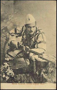 First Balkan War, Serbian Soldier Milan Aleksic World War One, First World, Churchill, Albanian Culture, Ottoman Turks, Folk Clothing, Japan, History Photos, Ottoman Empire
