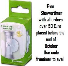 We are giving away free showertimers!