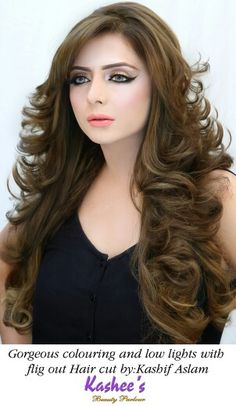 103 Best Kashees Glamorous Hair Styling Images Bridal Hair