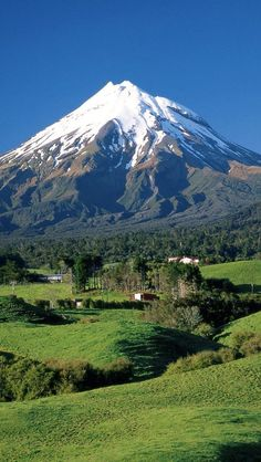 Mount Taranaki, Mount Egmont, Taranaki, North Island, New Zealand