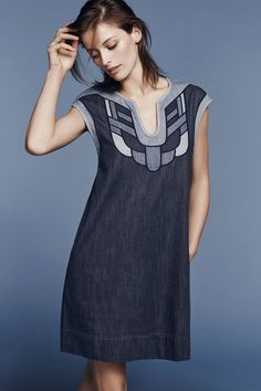 Sanara Denim Dress - anthropologie.com