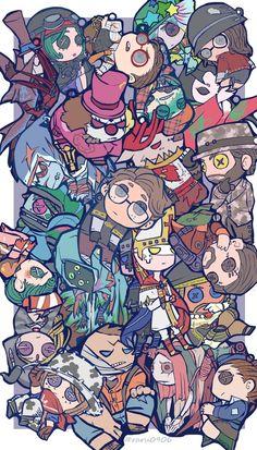 Read identity V from the story Xả ảnh tùm lum by (kushiro ked 😆) with 152 reads. V Cute, Cute Art, V Chibi, Identity Art, Cool Drawings, Anime Art, Fan Art, Manga, Wallpaper
